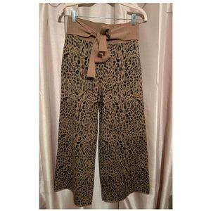 Moth by Anthropologie Leopard Pants